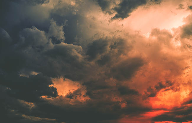 Dark Storm Cloud